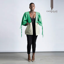Load image into Gallery viewer, Two Tone Green Booty Jacket