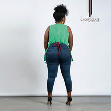 Load image into Gallery viewer, Green & Red Booty Jacket