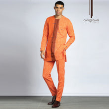 Load image into Gallery viewer, PRE-ORDER Orange Kaftan