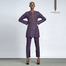 Load image into Gallery viewer, PRE-ODER Purple Lady Kaftan
