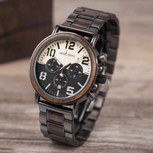 Business Style Wood Watch - HURRY fewer than 50 left!