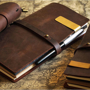 Handmade genuine leather, vintage look Notebook Journal