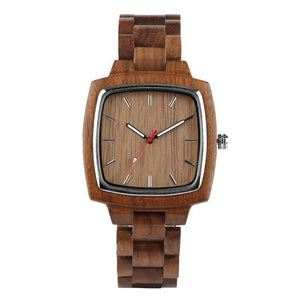 Unique Walnut Wooden Watches for Men, Women or Matching for Couples