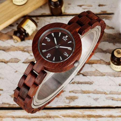 Simple Elegance Minimalist Wooden Watch