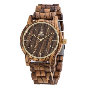 UWOOD Wood Watch Men Quartz Watches Man Retro Raw Sandal Wooden Watches For Men Husband Gift Bamboo Watch Vingate Wrist Watches