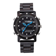 Modish LED Digital Wooden Watch with Luminous Dial