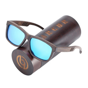 Brown Wooden Sunglasses Polarized