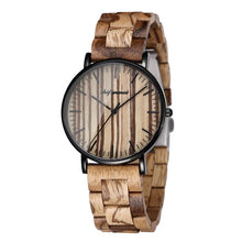 Men's Wooden Luxury Casual Waterproof Wristwatch