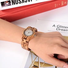 Women's Classic Quartz Wooden Watch