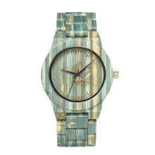 Colourful Wooden Watch