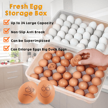 Load image into Gallery viewer, Creative Fresh Egg Storage Box