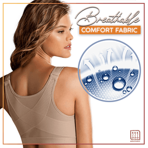 Front Closure Back Support Posture Bra