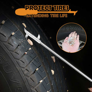 Automative Tires Gravel Easy Remover