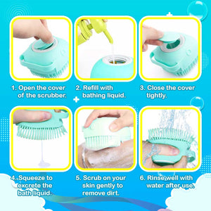 Soap Dispenser Body Scrubber