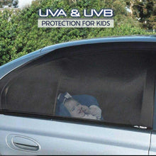 Load image into Gallery viewer, Car Windows Magnetic Mesh Sunshades - 1 Pair