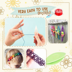 Shuttle Crochet Tatting Tool(2pcs)