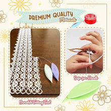 Load image into Gallery viewer, Shuttle Crochet Tatting Tool(2pcs)