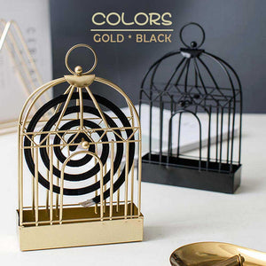 Nordic Metal Mosquito Coil Holder