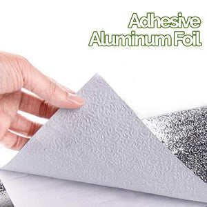 Dirt And Heat Resistant Aluminum Foil Wall Protector