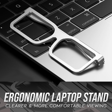 Load image into Gallery viewer, Foldable Glasses Laptop Stand