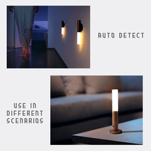 Load image into Gallery viewer, Rechargeable Wooden Motion Sensor Night Light