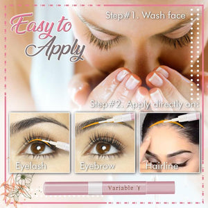 Eyelash Nourishing And Growth Liquid - 3PCS