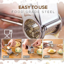 Load image into Gallery viewer, Stainless Steel Cheese And Vegetables Grater