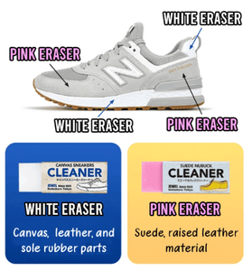 Magic Erasers - Magical Shoe Cleaning Eraser