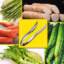 Load image into Gallery viewer, Double-Sided Stainless Steel Vegetable Peeler