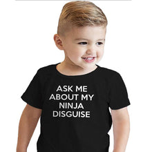 Load image into Gallery viewer, Ninja Disguise Parent-Child T-shirt