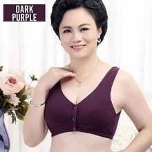 Load image into Gallery viewer, Front Button Wireless Gathering Bra