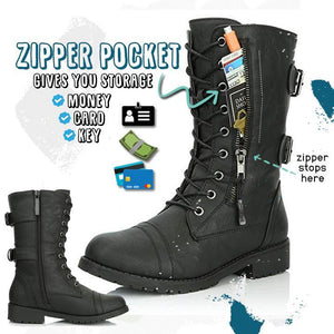 2020 New Trend Mid Wallet Pocket Boots