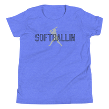 Load image into Gallery viewer, Softballin Original Logo Youth Short Sleeve T-Shirt