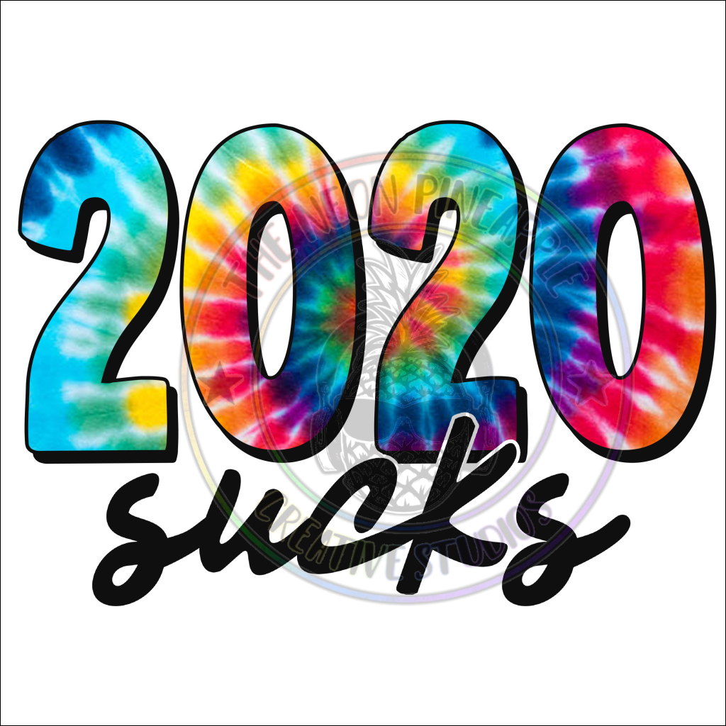 2020 Sucks Tie Dye Waterslide - 23