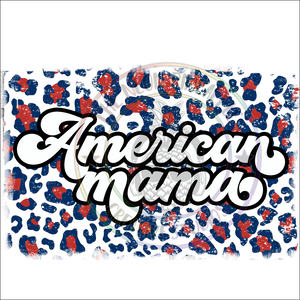 American Mama Sublimation Transfer - 221