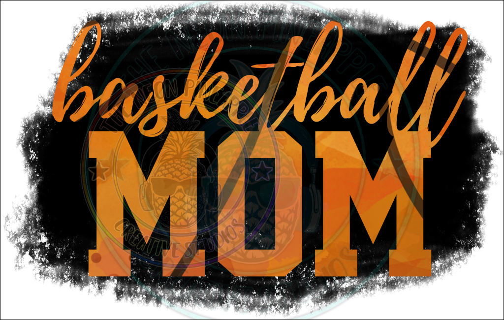 Basketball Mom Sublimation Transfer - 56
