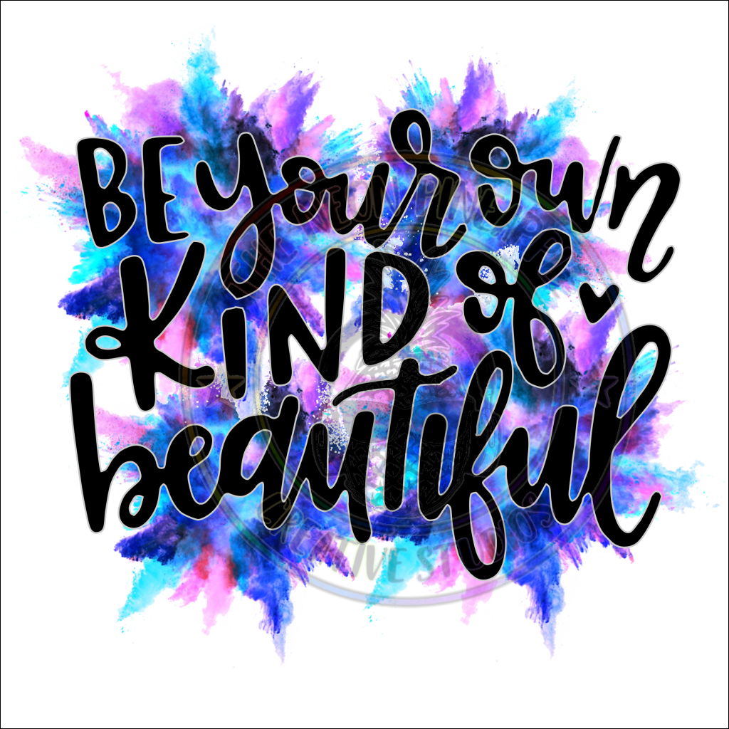 Be Your Own Kind Of Beautiful Waterslide - 61