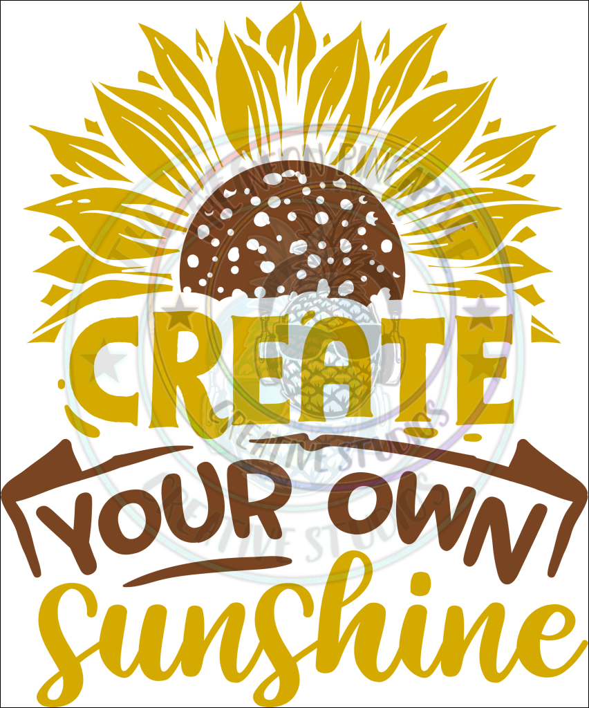 Create Your Own Sunshine Sublimation Transfer - 109