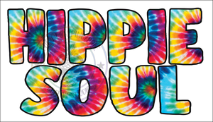 Hippie Soul Tie Dye Sublimation Transfer - 183