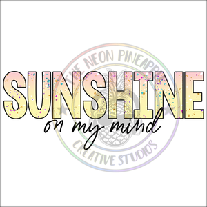 Sunshine On My Mind Waterslide - 318