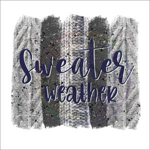 Sweater Weather Sublimation Transfer - 385
