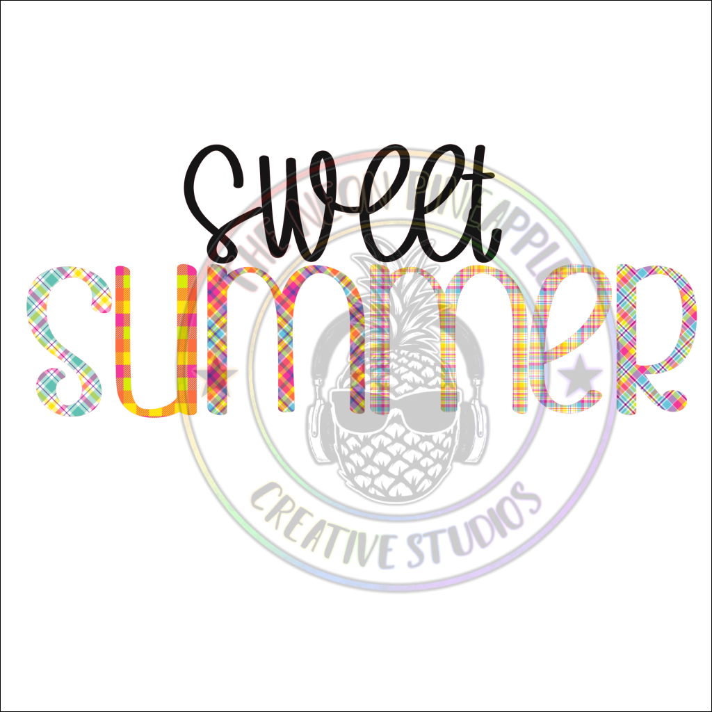 Sweet Summer Sublimation Transfer - 320