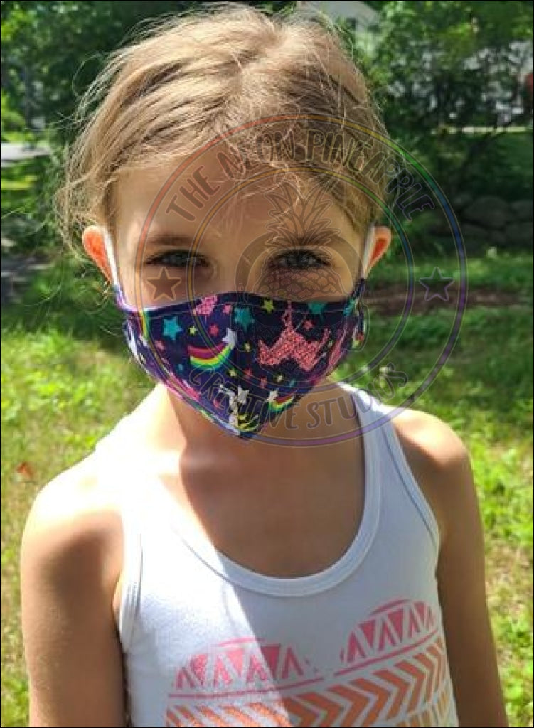 Unicorn - Adjustable Kids Face Covering