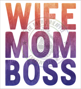 Wife Mom Boss Waterslide - 346