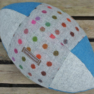 Rugby Ball Cushion - Spot On 3
