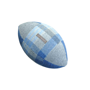Rugby Ball Cushion - Blues