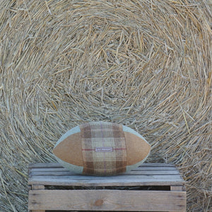 Rugby Ball Cushion - Hampton