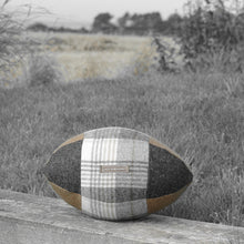 Load image into Gallery viewer, Rugby Ball Cushion - Bucklebury