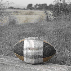 Rugby Ball Cushion - Bucklebury