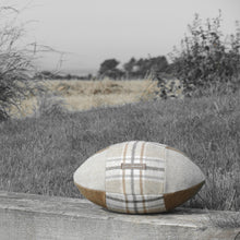Load image into Gallery viewer, Rugby Ball Cushion - Apsley
